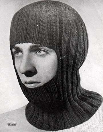 vintage k2 p2 rib balaclava pattern | Knitting | Knitting ...