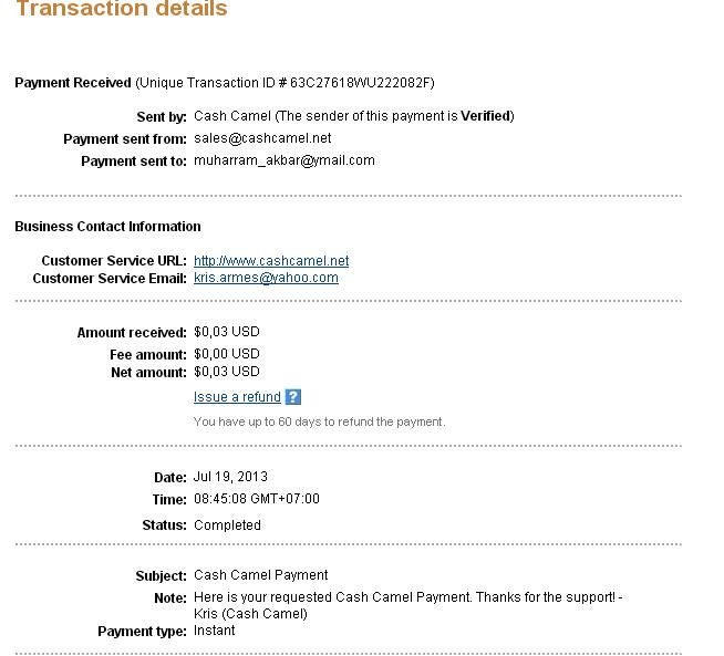 this is my 4th payment
