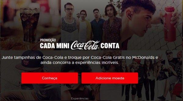 promoção coca cola 2016