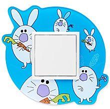 90910_NK: 1 - rámček, biely zajko