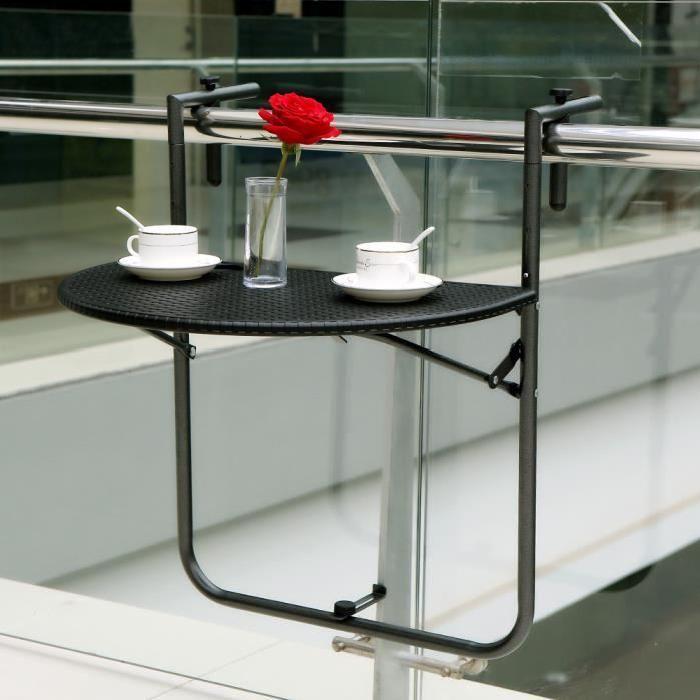 Cette table pliante va ajouter un espace supplémentaire pour votre activité de loisir. Vous pouvez vous asseoir sur le balcon, déguster café, thé, cocktile avec cette table stable. Conception pliable rend portable à transporter, …Voir la présentation