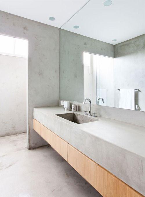 Badeværelse: beton