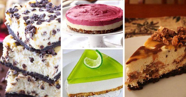 10 Nejoblíbenějších Receptů na Cheesecake