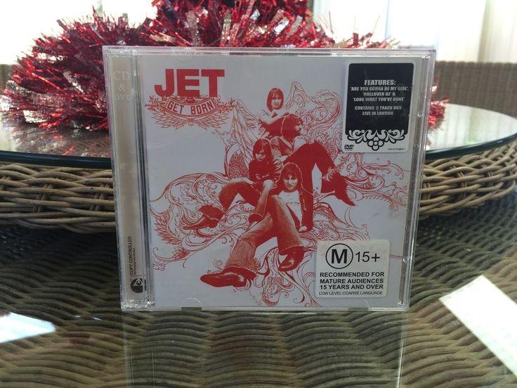 Music CDs - Jets RoCk Band / Group - Get Born 2 Disc Set  CD / DVD Combination  | eBay