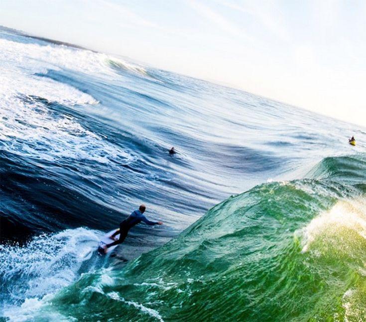 Here's what pro surfer Mark Mathews' bucket list looks like