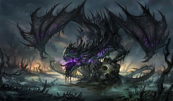 Black Dragon by sandara.deviantar… on deviantART
