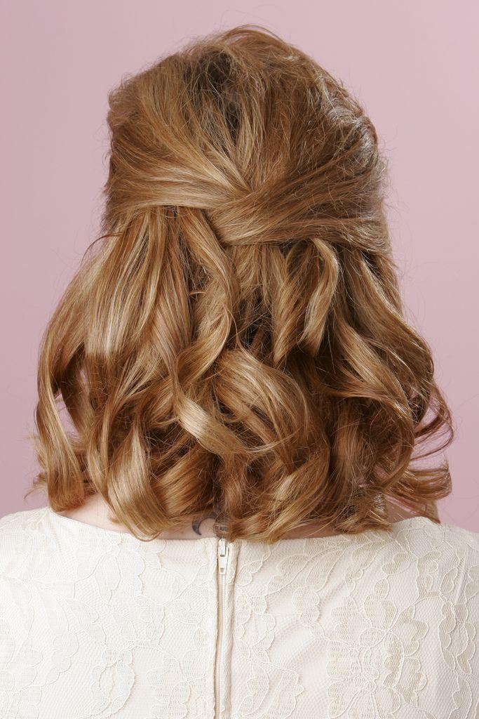 Stupendous 1000 Images About Wedding Hair On Pinterest Bridal Hair Medium Short Hairstyles For Black Women Fulllsitofus