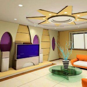 Simple False Ceiling Designs For Living Room