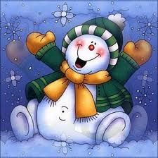 *JOLLY SNOWMAN