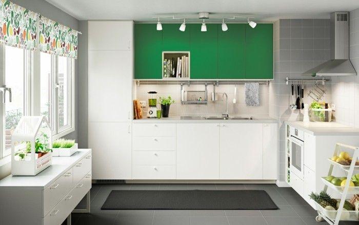 Küchenfarben richtig auswählen \u2013 60 Küchendesigns in verschiedenen
