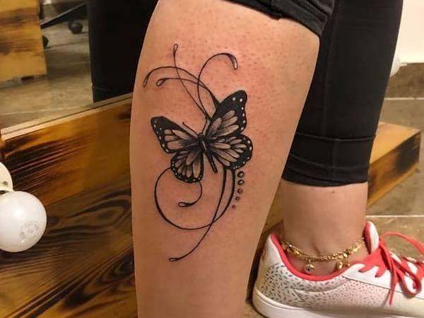 Tatuaż Motyl Znaczenie Historia 40 Zdjęć Pomysł Na