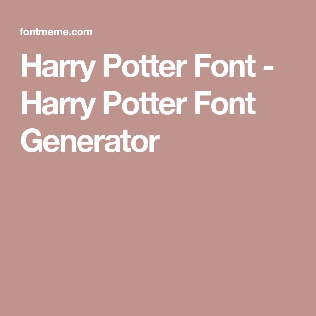 Harry Potter Book Font ~ Best harry potter font ideas on pinterest