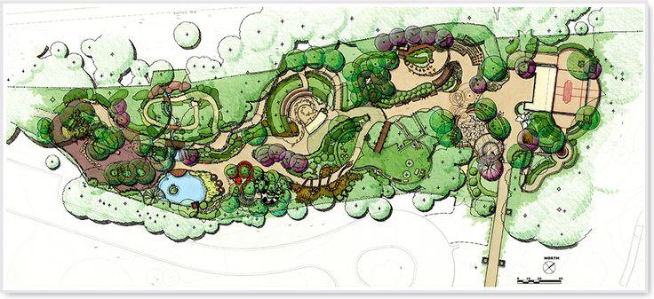 Atlanta Botanical Garden Children S Garden Plan Rendering