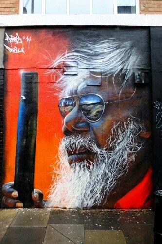 Adnate - street art london shoreditch - nov 2014