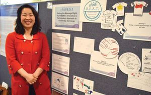 Thanks to all who came out to see us at the Centre for Applied Health Research (CAHR) Annual Showcase of Applied Health Research in Thunder Bay. The Chronicle Journal featured Chi and this year's NorthBEAT presentation in their coverage of the event.  You can read the article here.  Related