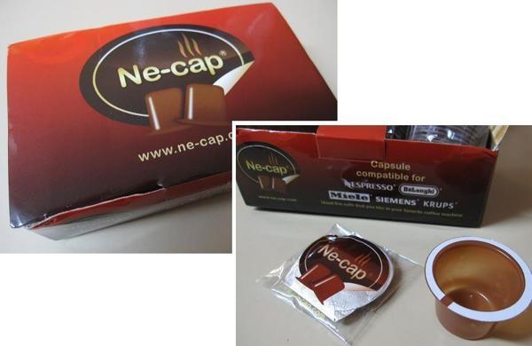 Ne-cap Coffee capsules by Coffee Capsules