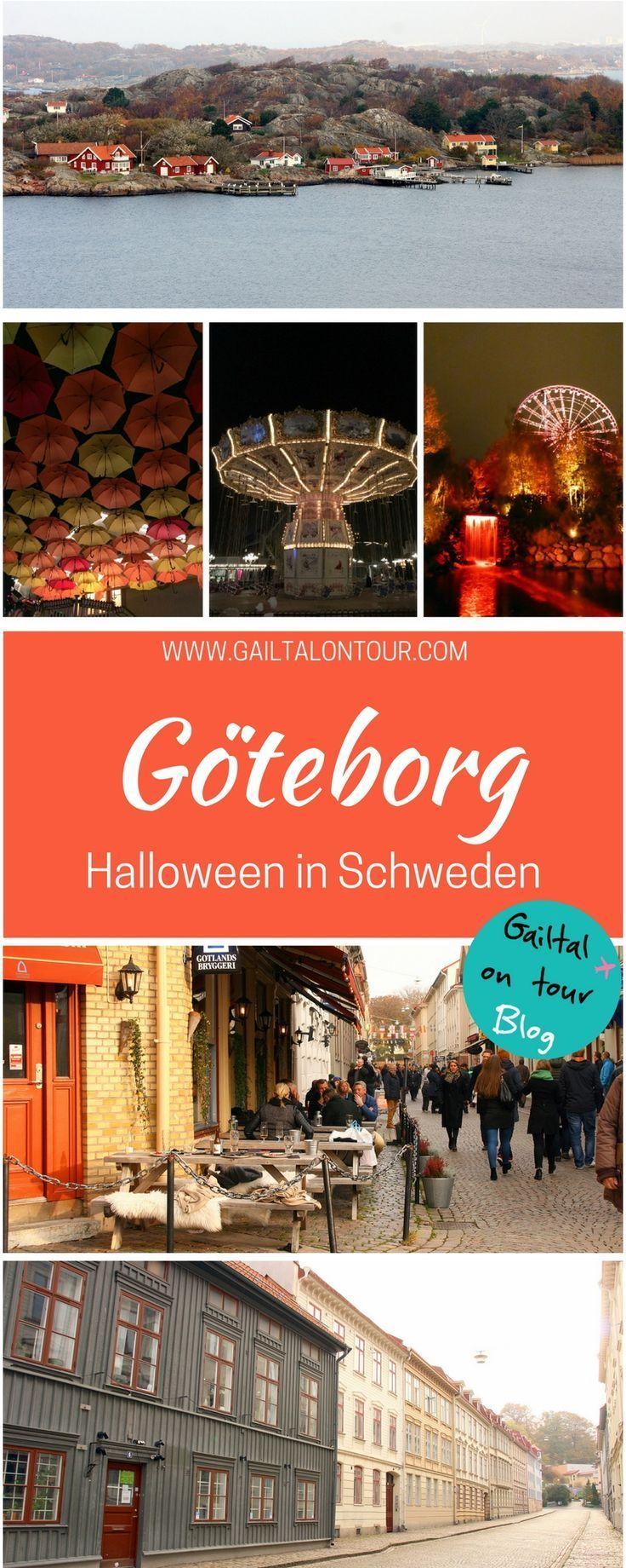 Städtetrip im Herbst nach #Göteborg. Ein Highlight ist #Halloween in #Liseberg. Aber die Stadt ist auch ideal für Shopping, Sightseeing oder einen Ausflug in den Schärengarten
