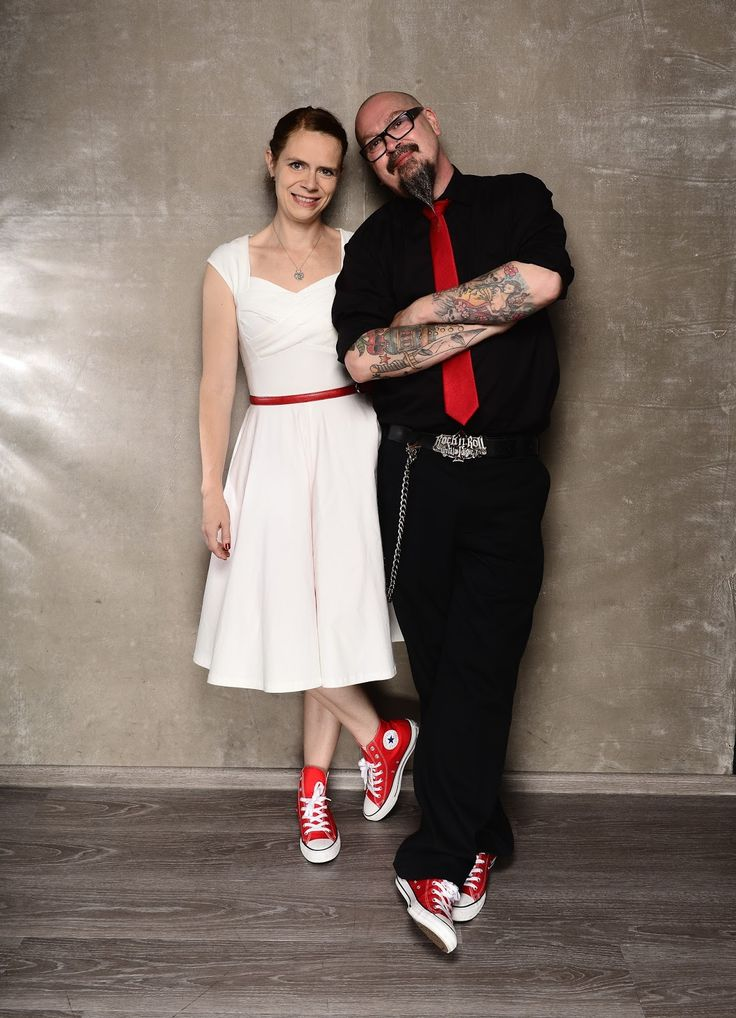 Unsere Hochzeit im ganz kleinen Kreis und mit Rockabilly Outfit #hochzeit #rockabilly #vintage #wedding