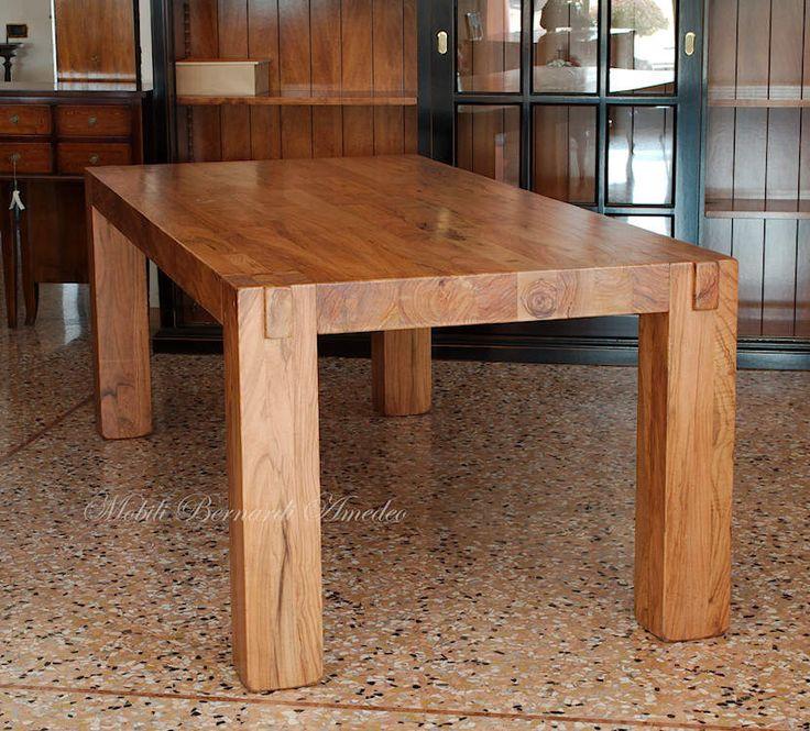 Oltre 25 fantastiche idee su gambe del tavolo su pinterest for Tavolo in legno d ulivo