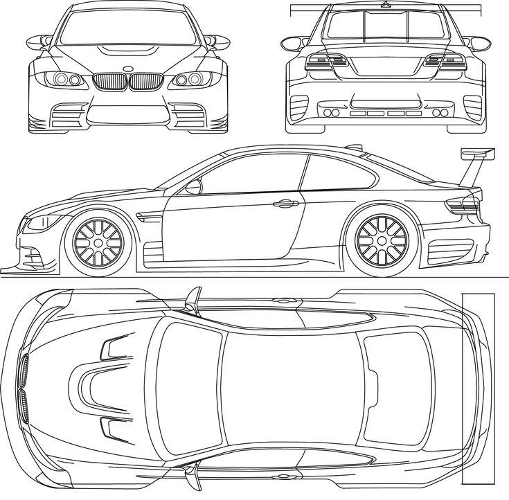 Index Of Var Albums Blueprints Car Blueprints Bmw | BMW ...