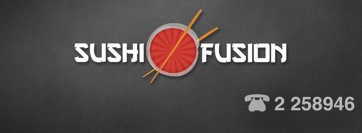 Marca Sushi Fusion Rancagua Fondo Gris