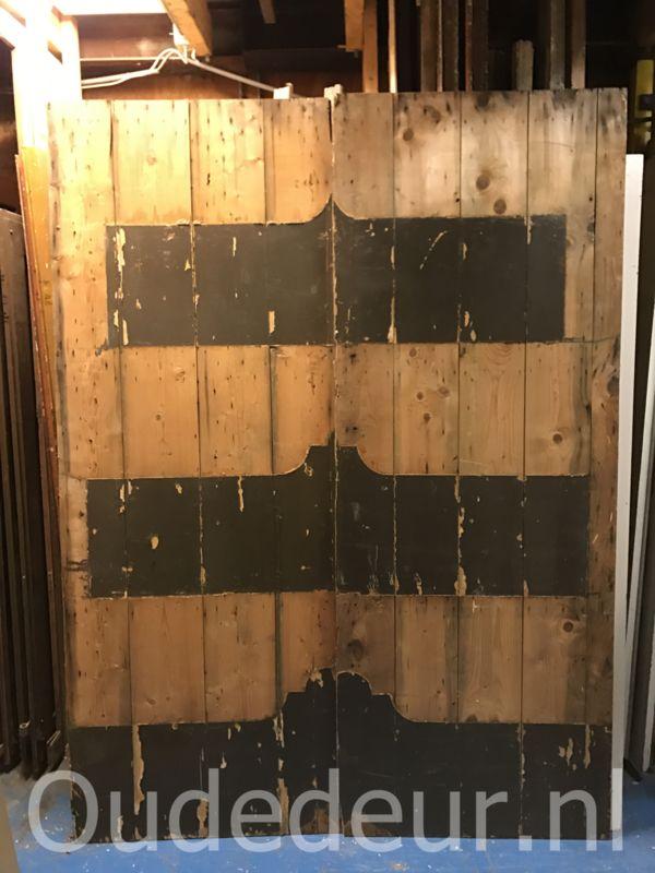 nr. set529 stel opgeklampte deuren