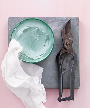 Car wax and garden shears  For cleaner cuts with less elbow grease, rub a little paste on the hinge of a pair of garden shears so they don't get jammed.