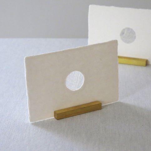 西島和紙工房 楮 透かしポストカード en 1枚入 - WACCA ONLINESHOP