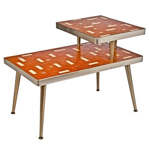 Mosaic Top End Table now featured on Fab.