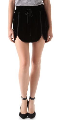 rebecca taylor scallop miniCasual Street Style, Track Skirts, Velvet Track, Rebecca Taylors, Clothing, Adaptations Rebecca, Fashion Shopbop, Taylors Velvet, Skirts Fashion