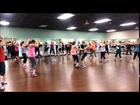 Shut Up And Dance - Dance Fitness (choreography by Karen Carlson) - YouTube