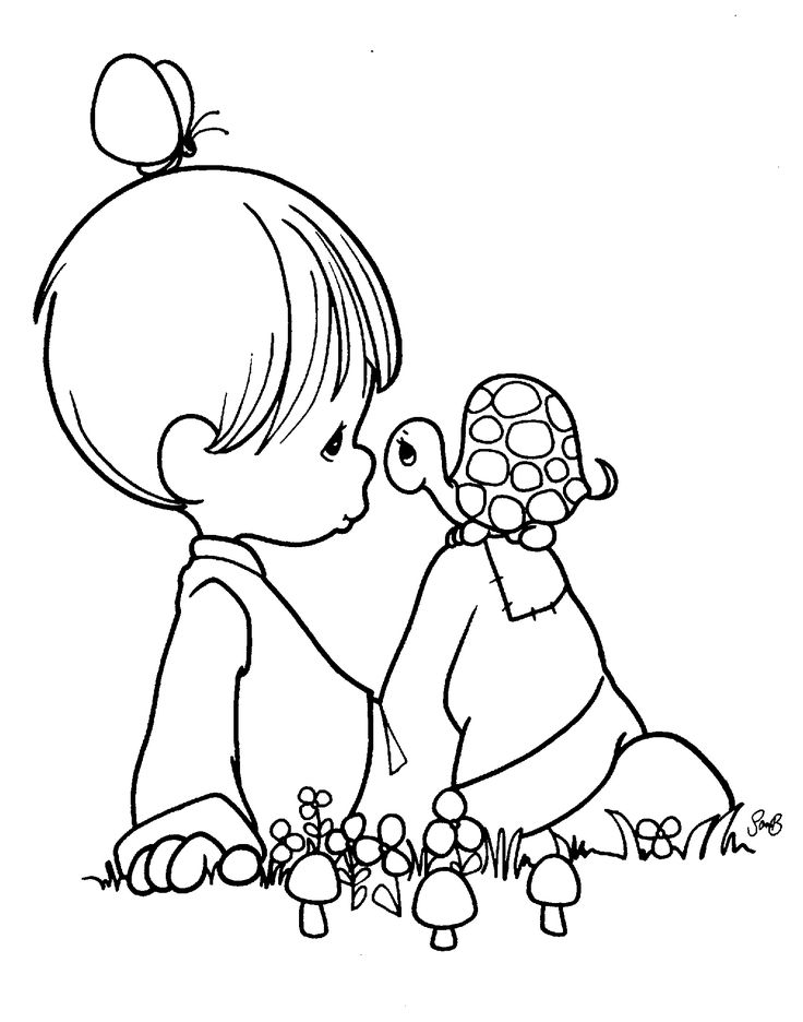 325 best Precious Moments Coloring Pages images on Pinterest | Adult ...
