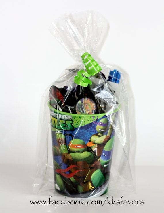 Ninja Turtle Favors idea