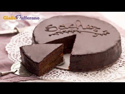 The Sachertorte is a chocolate delicacy, a masterpiece of Austrian cuisine... let's see how to make it with Sonia! Find this and many more recipes on the Giallozafferano App in English http://itunes.apple.com/app/giallozafferano-recipes/id384387249?mt=8    ***    Mmmh I love chocolate, and today I'll be using it to make the queen of chocolate ca...