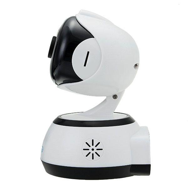 GUUDGO GD-SC02 720P Cloud Wifi IP Camera Pan&Tilt IR-Cut Night Vision Two-way Audio Motion Detection Alarm Camera Monitor Support Amazon-AWS[Amazon Web Services] Cloud Storage Service Sale - Banggood.com