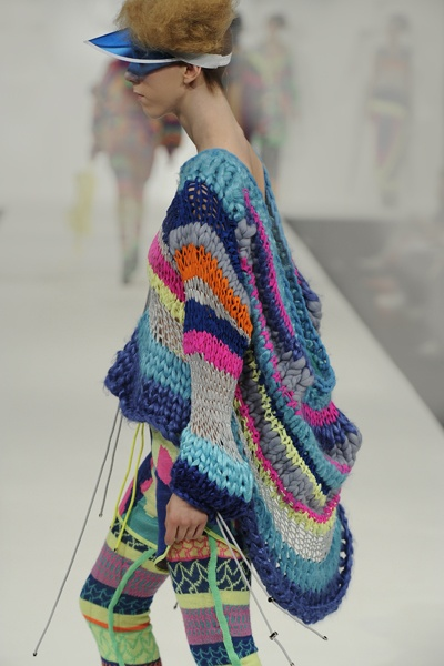 by Alison Woodhouse. There is something great about this sweater? Is it the colours?