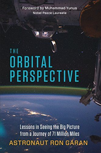 The Orbital Perspective: Lessons in Seeing the Big Picture from a Journey of 71 Million Miles by Ron Garan, http://www.amazon.co.uk/dp/B00MAN3JFS/ref=cm_sw_r_pi_dp_k130ub13H1TY2