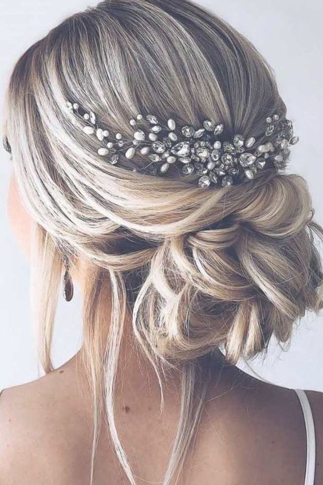 42 Gorgeous Wedding Hairstyles Updo Hairstyles Updo Hairstyles Wedding Hairstyle Inspiration Winter We Wedding Hair Inspiration Hair Styles Bridal Hair Updo