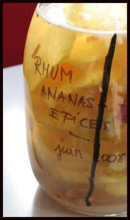 Bien-aimé Les 25 meilleures idées de la catégorie Rhum arrangé ananas sur  WE01