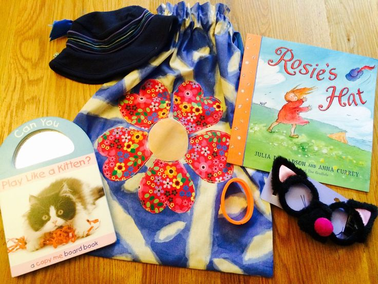A personal favourite from my Etsy shop https://www.etsy.com/uk/listing/237628696/rosies-hat-story-sack-bundle