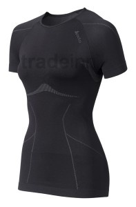 Odlo Shirt Ss Crew Neck Evolution Black Woman $46.4