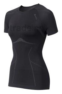 Odlo Shirt Ss Crew Neck Evolution Black Woman $46.4