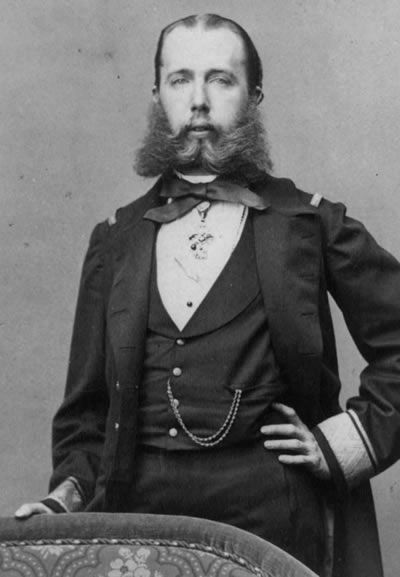 Ferdinand Maximilian was born on July 6, 1832 Originally brought to Mexico by France as a figurehead, the young Maximilian proved to be quite independent and saw himself as Mexico's Emperor, not a mere tool of the French government.  When the French realized that they had been unsuccessful in their occupation, they withdrew from Mexico in 1866.  On June 19, 1867 Ferdinand Maximilian was executed by firing squad.