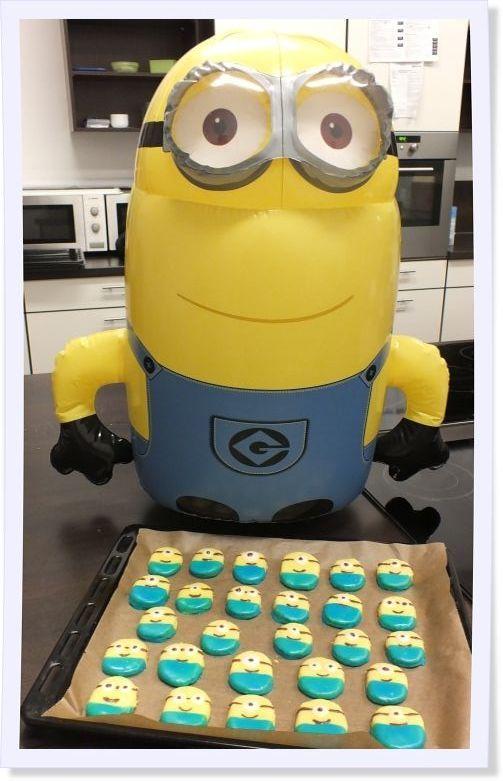 Ein Traum in gelb und blau! Minion-Kekse zum Selbermachen!
