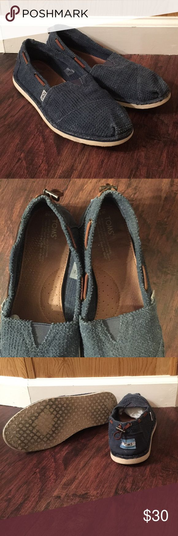 Men's TOMS Men's TOMS. Great condition. Worn a handful of times but still lots of life left in them. All men need a pair of toms  TOMS Shoes