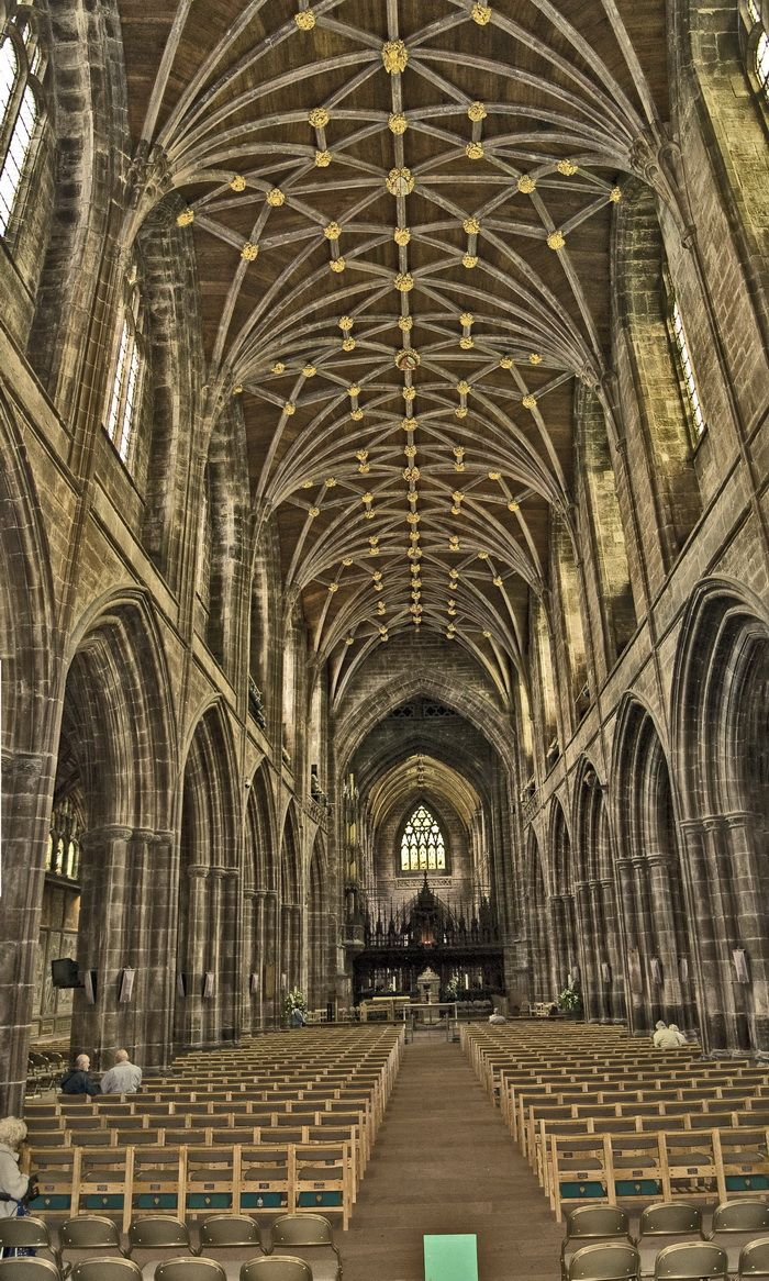 Chester Cathedral, Cheshire, England. Built in 1541