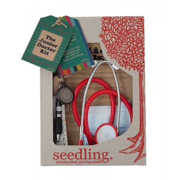 Realistic Toy Doctor Kit   Seedling The Junior Doctor Kit - Good Things for Kids