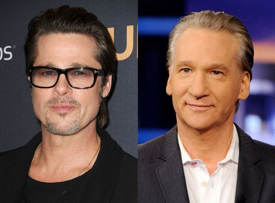 Brad Pitt and Bill Maher Slam Costco, Speak Up for Caged Hens | E! Online Mobile