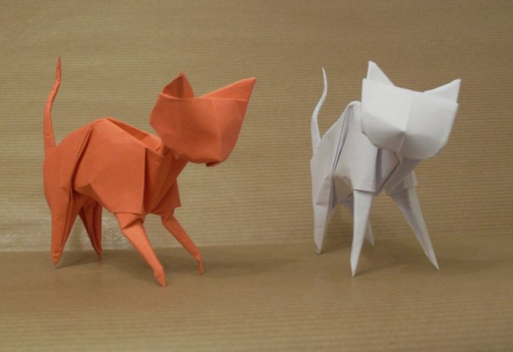 Origami Cats by ~Orestigami