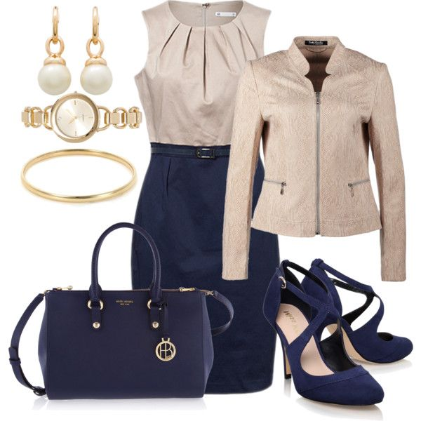 For Work #244 by annabouttown on Polyvore featuring Betty Barclay, Miss KG and Henri Bendel